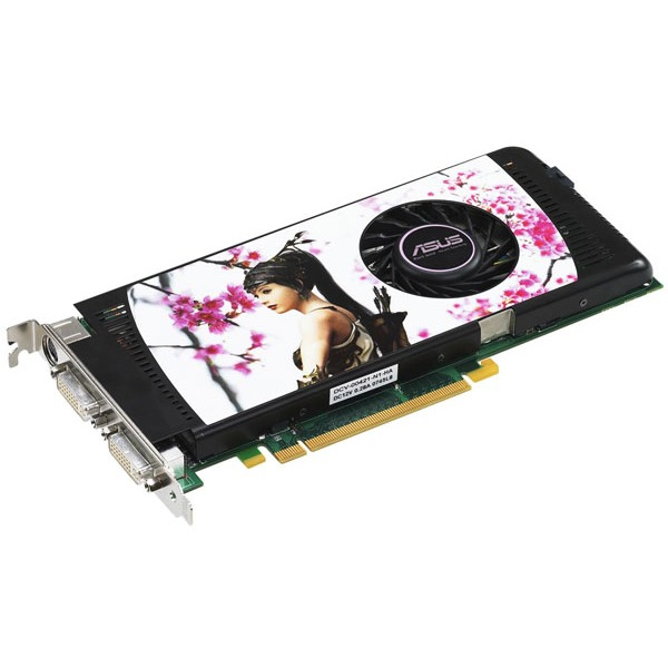 Carte graphique ASUS EN9600GT/HTDI/512M ASUS EN9600GT/HTDI/512M - 512 Mo TV-Out/Dual DVI - PCI Express (NVIDIA GeForce 9600 GT)