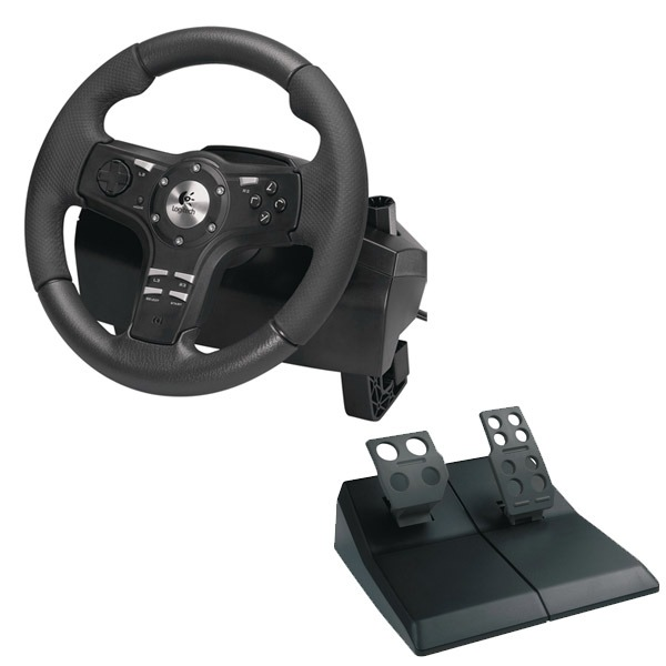 how to use logitech driving force ex on pc