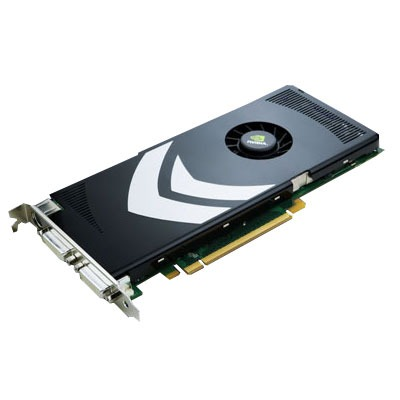 Carte graphique NVIDIA GeForce 8800 GT - 512 Mo NVIDIA GeForce 8800 GT - 512 Mo TV-Out/Dual DVI - PCI Express