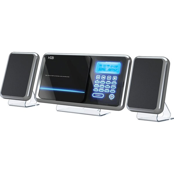 Chaîne Hifi H&B HF-430i H&B HF-430i - Micro-chaîne MP3 avec port USB