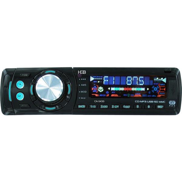 Autoradio H&B CA-5430i H&B CA-5430i - Autoradio MP3 avec Port USB et Slot pour carte mémoire SD/MMC