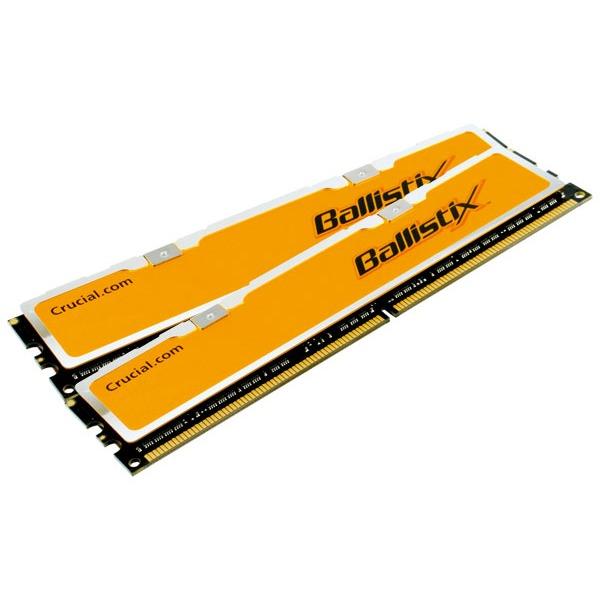 Mémoire PC Ballistix 4 Go (kit 2x 2 Go) DDR2-SDRAM PC6400 CL4 Crucial Ballistix 4 Go (kit 2x 2 Go) DDR2-SDRAM PC6400 CL4 - BL2KIT25664AA804 (garantie 10 ans par Crucial)