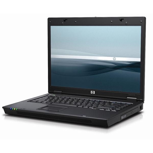"PC portable HP Compaq 6715s HP Compaq 6715s - AMD Turion 64 X2 TL-58 1 Go 120 Go 15.4"" TFT Graveur DVD Super Multi DL LightScribe Wi-Fi G WVP (ou WXPP*)"