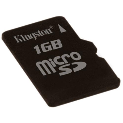 Carte mémoire Kingston microSD 1 Go Kingston microSD 1 Go (garantie 10 ans par Kingston)