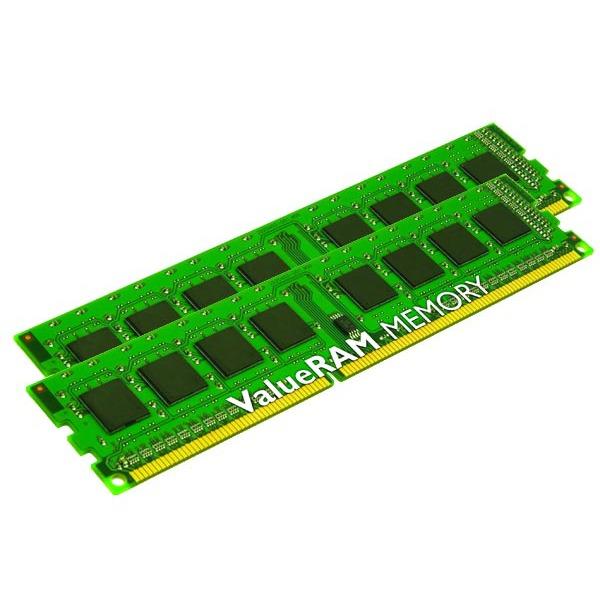Mémoire PC Kingston ValueRAM 4 Go (2x 2Go) DDR3 1333 MHz Kingston ValueRAM 4 Go (kit 2x 2 Go) DDR3-SDRAM PC10600 CL9 - KVR1333D3N9K2/4G (garantie 10 ans par Kingston)