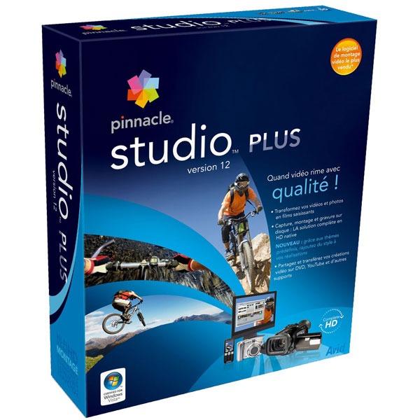 Logiciel composition vidéo Pinnacle Studio Plus 12 Pinnacle Studio Plus 12 (français, WINDOWS)