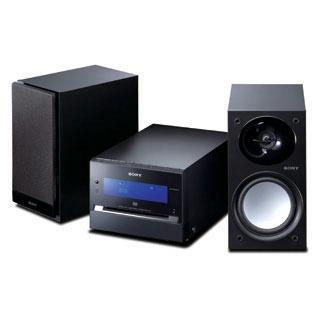 Chaîne Hifi Sony CMT-DH3 Sony CMT-DH3 - Microchaine DVD DiVx MP3 (coloris noir)