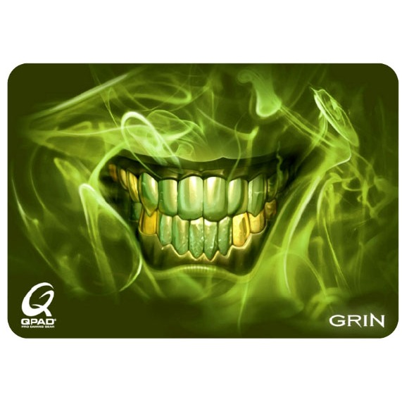 qpad ct grin limited edition tapis de souris qpad sur. Black Bedroom Furniture Sets. Home Design Ideas