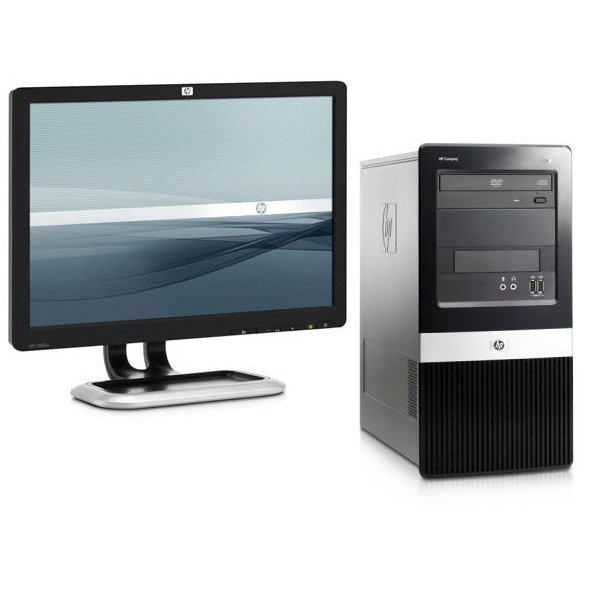 hp compaq dx2400 l1908w pc de bureau hp sur. Black Bedroom Furniture Sets. Home Design Ideas