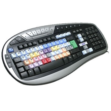 Clavier PC LogicKeyboard Avid Media Composer Multimedia LogicKeyboard Avid Media Composer Multimedia (AZERTY Français)