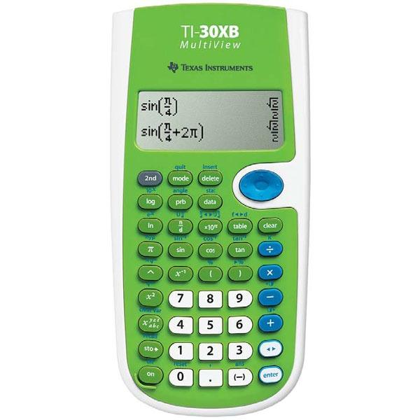 Texas instruments ti 30xb multiview calculatrice texas for Calculatrice prix
