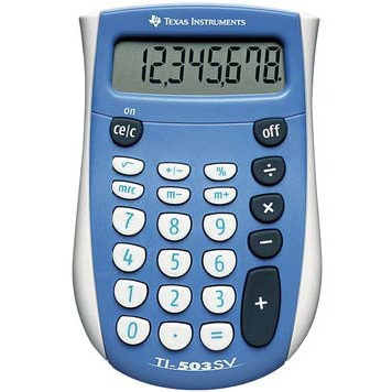 texas instruments ti 503 sv calculatrice texas instruments sur. Black Bedroom Furniture Sets. Home Design Ideas