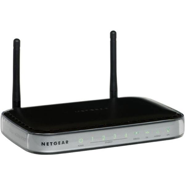 Modem & routeur Netgear DGN2000 Netgear DGN2000 - Modem/Routeur Firewall ADSL 2+ sans fil - 300 Mbits/s