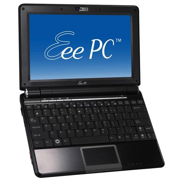 """LDLC.com ASUS Eee PC 1000H Noir ASUS Eee PC 1000H Noir - Intel Atom N270 1 Go 160 Go 10.2"""" TFT Wi-Fi N/Bluetooth Webcam WXPH"""