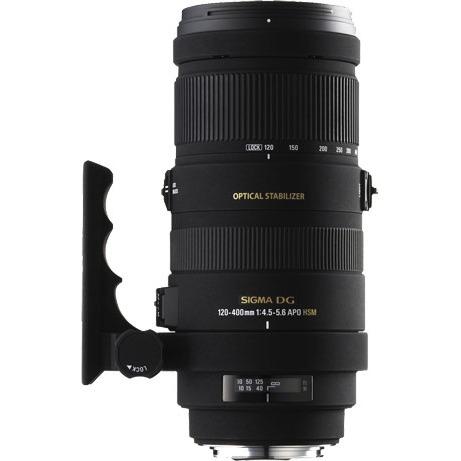 Objectif appareil photo SIGMA 120-400mm F4,5-5,6 APO DG OS HSM (monture Canon) SIGMA 120-400mm F4,5-5,6 APO DG OS HSM (monture Canon)