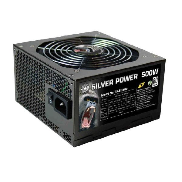 Alimentation PC SilverPower SP-SS500 SilverPower SP-SS500 Green Power - Alimentation 500W ATX12V v2.3/EPS12V - 80PLUS