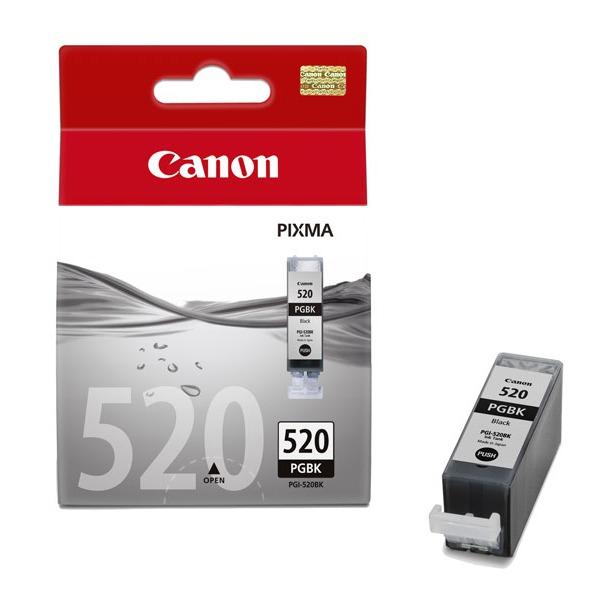 Cartouche imprimante Canon PGI-520BK Cartouche d'encre noire