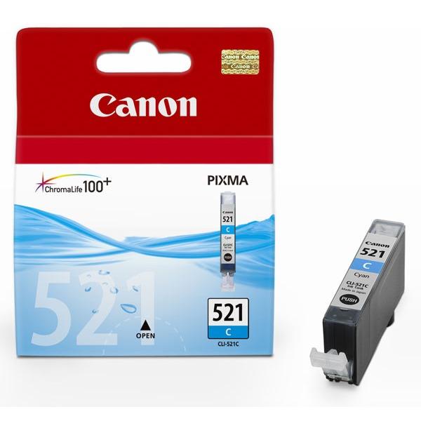 Cartouche imprimante Canon CLI-521C Cartouche d'encre cyan