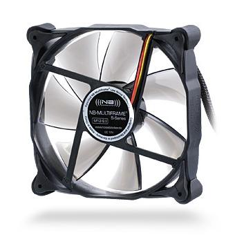 Ventilateur boîtier Noiseblocker Multiframe M12-S3 120mm Noiseblocker Multiframe M12-S3 120mm (version boîte)