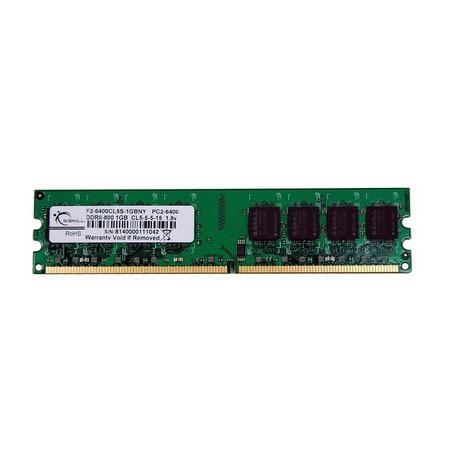 Mémoire PC G.Skill NY Series 1 Go DDR2 800 MHz G.Skill NY Series 1 Go DDR2-SDRAM PC2-6400 - F2-6400CL5S-1GBNY (garantie 10 ans par G.Skill)