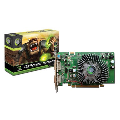 Carte graphique Point Of View GeForce 8600 GT - 512 Mo Point Of View GeForce 8600 GT - 512 Mo TV-Out/DVI - PCI Express (NVIDIA GeForce 8600 GT)