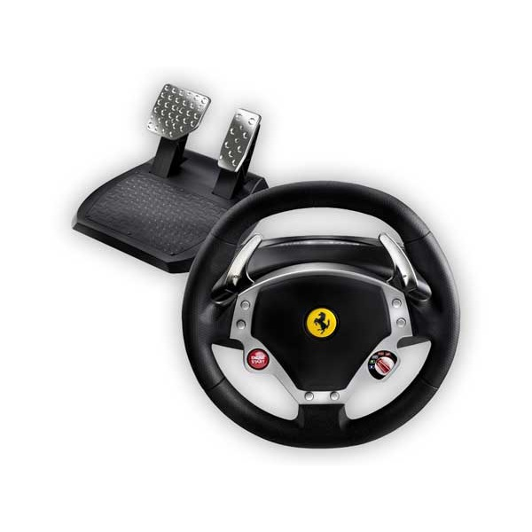 thrustmaster ferrari f430 force feedback racing wheel volant pc thrustmaster sur. Black Bedroom Furniture Sets. Home Design Ideas