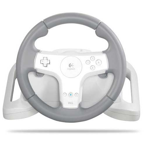 Accessoires Wii Logitech Speed Force Wireless (Wii) Logitech Speed Force Wireless - Volant pour Wii