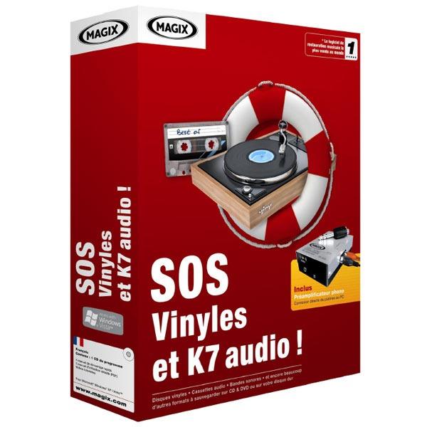 magix sos vinyles et k7 audio logiciel image son magix sur. Black Bedroom Furniture Sets. Home Design Ideas