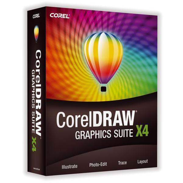 LDLC.com Corel CorelDRAW Graphics Suite X4 Corel CorelDRAW Graphics Suite X4 - Version complète (français, WINDOWS)