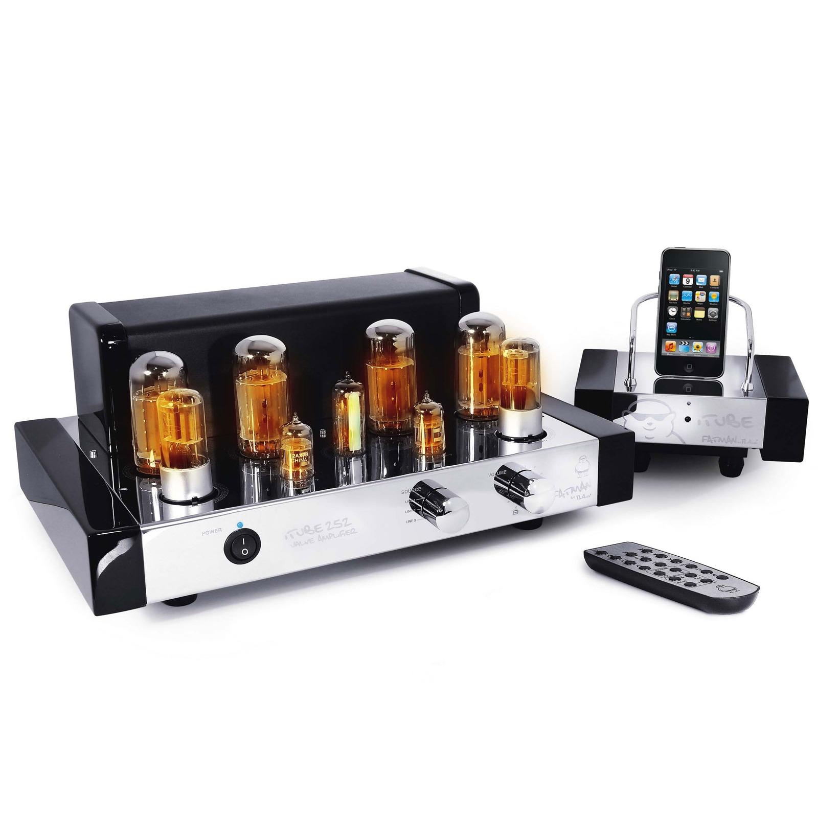 fatman itube 252 amplificateur hifi fatman sur. Black Bedroom Furniture Sets. Home Design Ideas