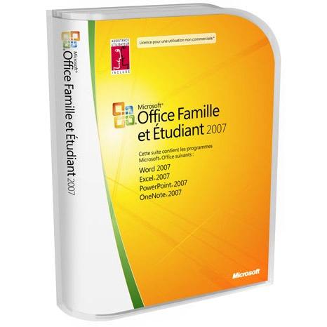 Microsoft office famille et etudiant 2007 fran ais - Cle activation office 365 famille premium ...