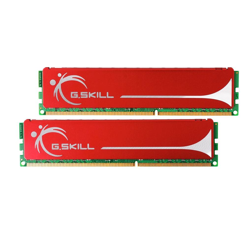 Mémoire PC G.Skill NQ Series 4 Go (2x 2Go) DDR3 1600 MHz G.Skill NQ Series 4 Go (kit 2x 2 Go) DDR3-SDRAM PC3-12800 - F3-12800CL9D-4GBNQ (garantie 10 ans par G.Skill)