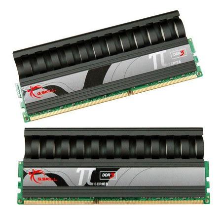 Mémoire PC G.Skill PI Black Series 4 Go (kit 2x 2 Go) DDR3-SDRAM PC3-14400 - F3-14400CL8D-4GBPI-B G.Skill PI Black Series 4 Go (kit 2x 2 Go) DDR3-SDRAM PC3-14400 - F3-14400CL8D-4GBPI-B (garantie 10 ans par G.Skill)