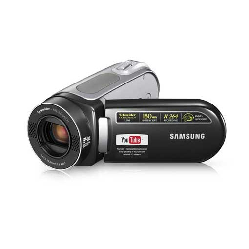 Caméscope numérique Samsung VP-MX20 Samsung VP-MX20 - Caméscope Carte mémoire (coloris noir)