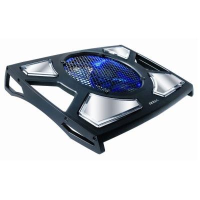 Ventilateur PC portable Antec Notebook Cooler 200 Support ventilé haute performance pour ordinateur portable (jusqu'à 19'')
