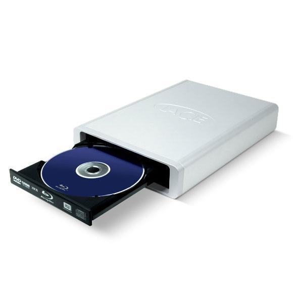 Lecteur graveur LaCie d2 Blu-ray Professional LaCie d2 Blu-ray Professional - Graveur externe Blu-ray/DVD - BD-R/RE 8/2x DVD(+/-)RW/RAM 16/6/16/6x DL(+/-) 8/8x CD-RW 48/24/48x (USB 2.0/FireWire 400)