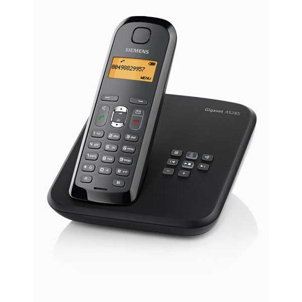 siemens gigaset as285 t l phone sans fil dect avec. Black Bedroom Furniture Sets. Home Design Ideas