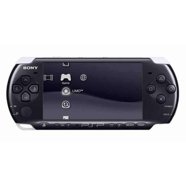 Console de jeux Sony PSP Slim & Lite 3004 Sony PSP Slim & Lite 3004 (coloris noir)