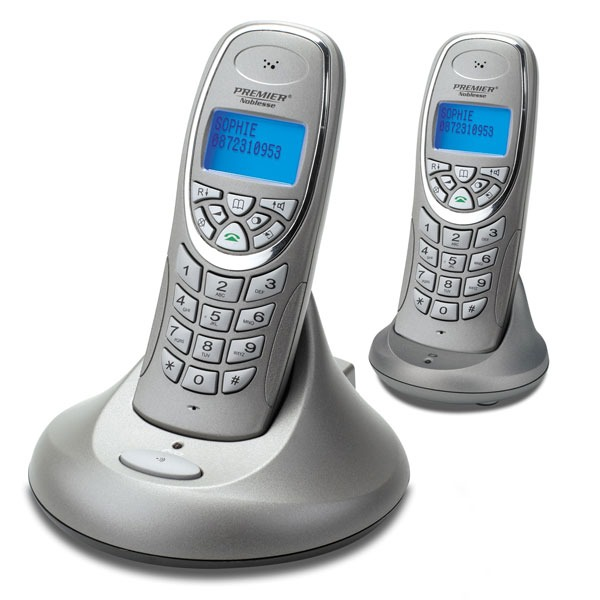premier noblesse voip twin t l phone sans fil dect pour. Black Bedroom Furniture Sets. Home Design Ideas