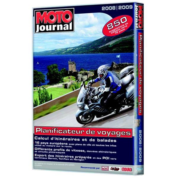 moto journal planificateur de voyages 2008 2009 g n rique sur. Black Bedroom Furniture Sets. Home Design Ideas