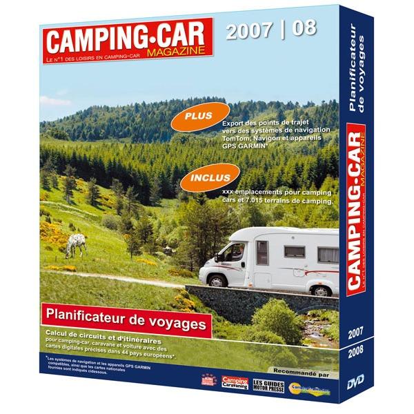 camping car magazine planificateur de voyages 2008 2009 g n rique sur. Black Bedroom Furniture Sets. Home Design Ideas