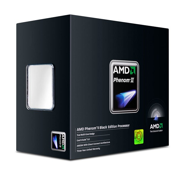 Processeur AMD Phenom II X4 955 Black Edition AMD Phenom II X4 955 Black Edition - Quad Core Socket AM3 0.045 micron Cache L2 2 Mo Cache L3 6 Mo (version boîte - garantie constructeur 3 ans)