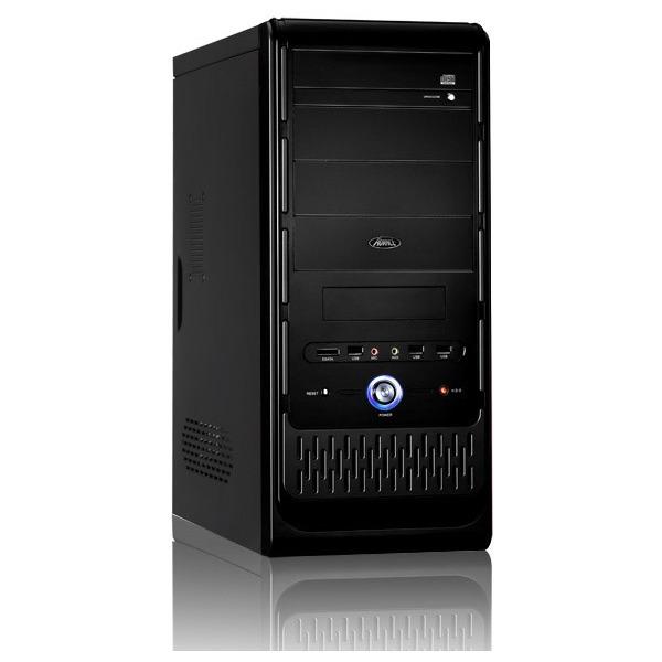 Boîtier PC Advance Mars 8816B Boîtier Moyen Tour Noir avec alimentation 480W