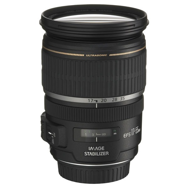Objectif appareil photo Canon EF-S 17-55 f2.8 IS USM Zoom standard stabilisé expert