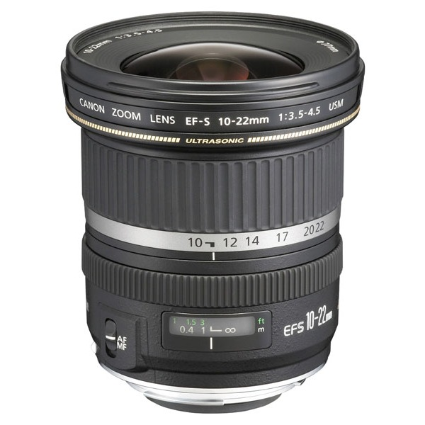 Objectif appareil photo Canon EF-S 10-22mm f/3.5-4.5 Zoom ultra grand angle
