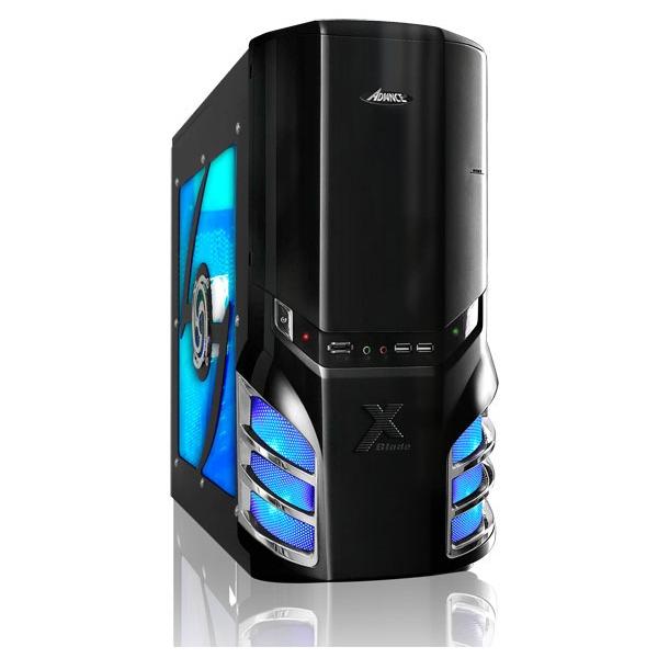 Boîtier PC Advance NeoXblade Boîtier Moyen Tour Noir
