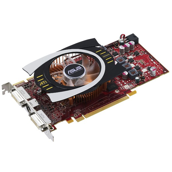 Carte graphique ASUS EAH4770/HTDI/512MD5 ASUS EAH4770/HTDI/512MD5 - 512 Mo TV-Out/Dual DVI - PCI Express (ATI Radeon HD 4770)