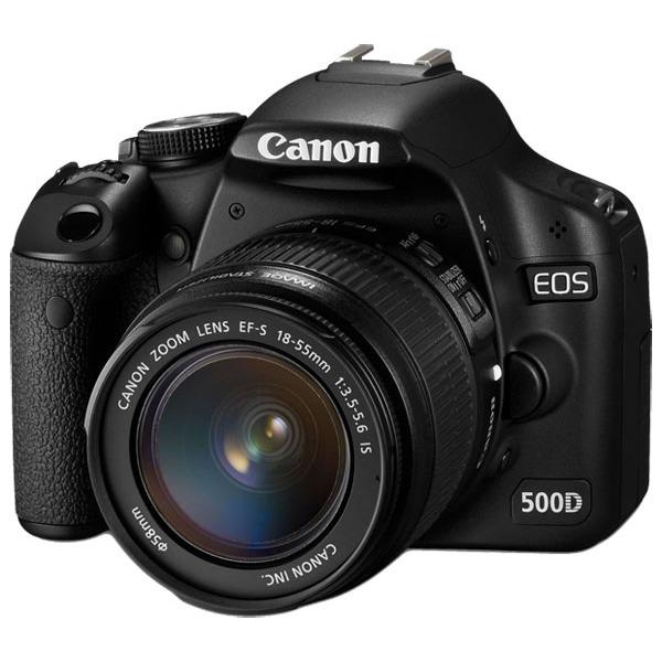 Appareil photo Reflex Canon EOS 500D Canon EOS 500D + Objectif EF-S 18-55 mm f/3,5-5,6 IS
