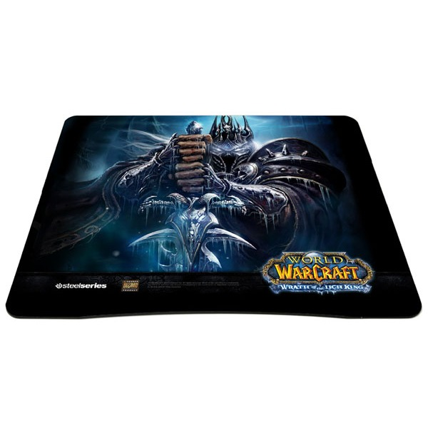 steelseries qck limited edition world of warcraft wrath of the lich king tapis de souris. Black Bedroom Furniture Sets. Home Design Ideas