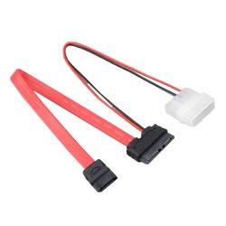 Serial ATA Akasa AK-CB050 Slimline Optical Câble SATA vers Mini-SATA monobloc pour disque optique Slim